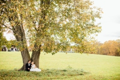 The large tree just in front of the barn is perfect as a ceremony location or just a place to sit and hide away. ©Celestial Sights Photography